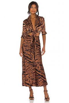 Платье миди carol - Ronny Kobo(125435446)