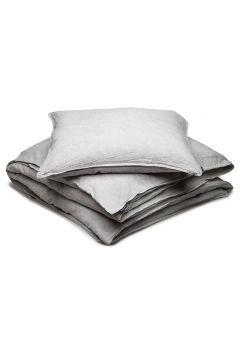 Bed Set Linen Blend Ammi King Home Bedroom Bedding Sets Grau GRIPSHOLM(97116831)