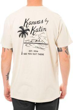 Katin Vintage Beachside Kurzarm-T-Shirt - Wool(114065012)