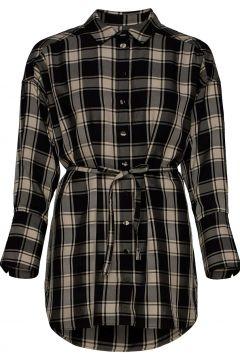 Parker Shirt Dress Kurzes Kleid Schwarz MOTHER OF PEARL(120512125)