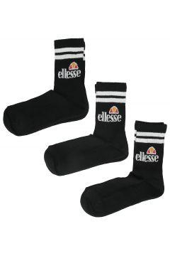 Ellesse Pullo 3 Pack Socks (9 - 11.5 ) black(97849802)