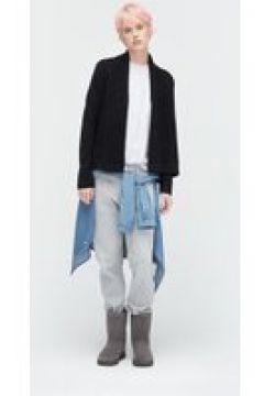 UGG Cardigan châle en biais pour Femmes en Black, taille Moyenne | Mélange De Coton(112238744)