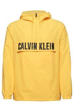 1/2 Zip Woven Jacket Outerwear Jackets Anoraks Gelb CALVIN KLEIN PERFORMANCE(109200330)