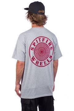 Spitfire OG Circle Outline T-Shirt grijs(89105098)