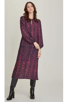 Ng Style Leopar Desen Bordo Elbise(113997448)