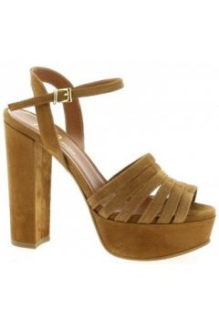 Sandales Essedonna Nu pieds cuir velours(98530163)