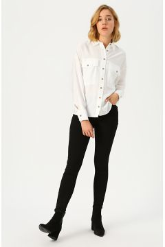 Fashion Friends Siyah Denim Pantolon(124744299)