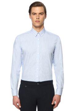 George Hogg Mavi Beyaz Gömlek(113989132)