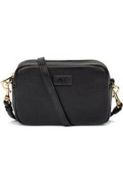 UGG Janey II Leather Sac Bandoulière pour Femmes en Black | Cuir(112239770)