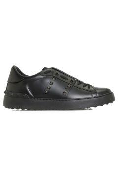 Valentino Garavani Kadın Rockstud Siyah Deri Sneaker 36 EU(127770399)