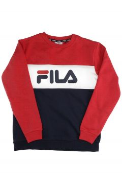 Fila Night Blocked Crew Sweater zwart(85195431)