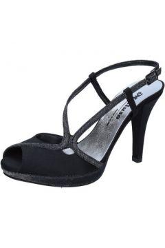Sandales Melluso sandales noir satin BZ789(115399014)