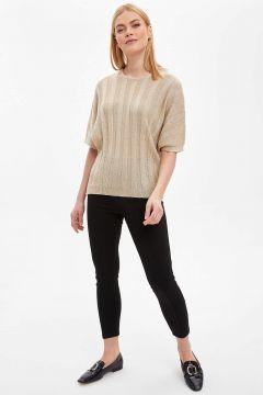 DeFacto Kadın Slim Fit Basic Tayt(125921945)