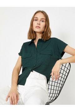 Koton Kadın Cep Detayli Gömlek(127511055)