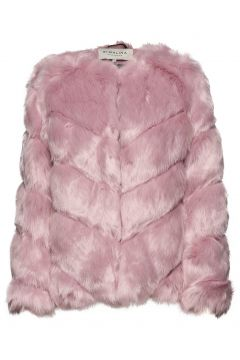 Oria Faux Fur Jacket Outerwear Faux Fur Pink BY MALINA(114157726)