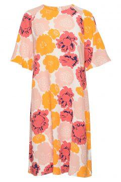Varista Pieni Pioni Dress Kleid Knielang Pink MARIMEKKO(114165055)