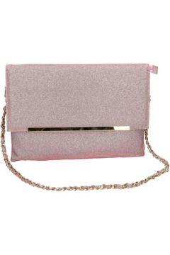 Sac à main Made In Italia rosa textile or AB993(115545454)