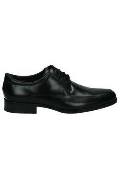 Ville basse Nuper Chaussures 4681 chevalier noir(127881626)