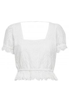 Omia Top Blouses Short-sleeved Weiß NOTES DU NORD(114153599)