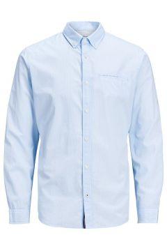 JACK & JONES Button-down Linnen Overhemd Heren Blauw(109030438)