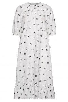 Banister Dress Kleid Knielang Weiß LOVECHILD 1979(116997392)