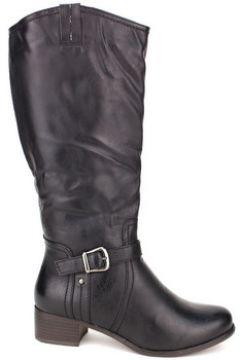 Bottes Cendriyon Bottes Noir Chaussures Femme(115424771)