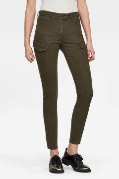 G-Star RAW Women Blossite G-Shape Army High Skinny Pant Green(117927170)