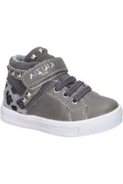 Baskets enfant Krizia sneakers gris cuir daim AD904(115393792)