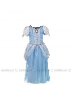 Turquoise - Age 8-12 Dress - LC WAIKIKI(110343431)