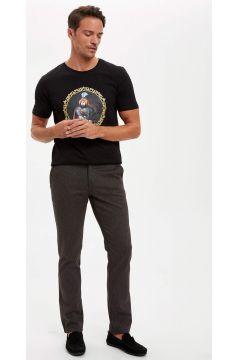 DeFacto Erkek Regular Fit Chino Pantolon(125925450)