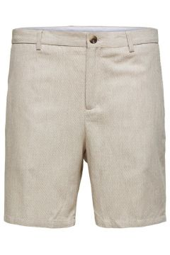 SELECTED Slim Tapered Fit Shorts Herren Beige(116224864)