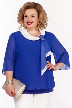 Блузка Pretty 380 василек(115244603)