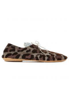 Schnürschuhe Leopard(112327501)