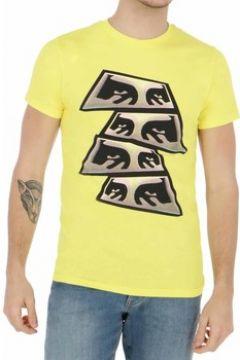 T-shirt Obey PYRAMID EYES GIALLA(127936728)