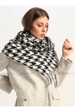White - Printed - Shawl Wrap - GINA LOREN(110335057)