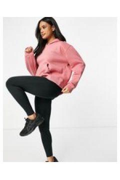 HIIT - Felpa con cappuccio rosa(123405317)