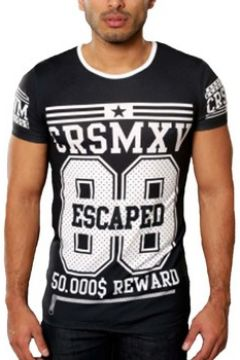 T-shirt Carisma Tee shirt fashion homme T-shirt CR4236 noir(115397888)