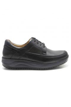 Barmea Siyah Ortopedik Topuk Dikeni Erkek Hafif Yürüyüş Ayakkabısı(110941475)
