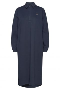 Bislett Dress Kleid Knielang Blau HOLZWEILER(116951496)
