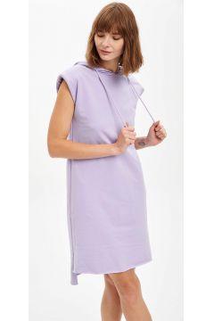 DeFacto Kadın Kolsuz Relax Fit Elbise(125933679)