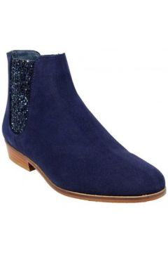 Bottines Bobbies Boots La Feerique Bleu(127852834)