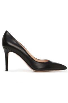 Gianvito Rossi Kadın Siyah Deri Stiletto 36 EU(127641567)