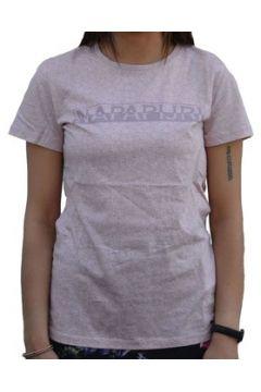 T-shirt Napapijri SAKUMA ROSA FANTASIA FLOREALE(115439170)