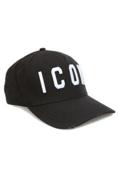 Dsquared2 Erkek Icon Siyah Logolu Şapka EU(121299485)