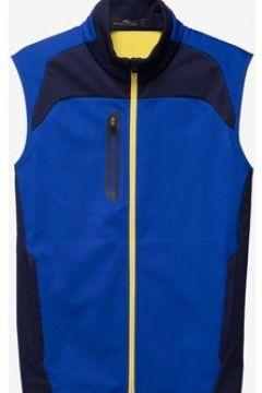Gilet Lauren Ralph Lauren Fz Vest Sleeveless Knit Dark blue(115483685)