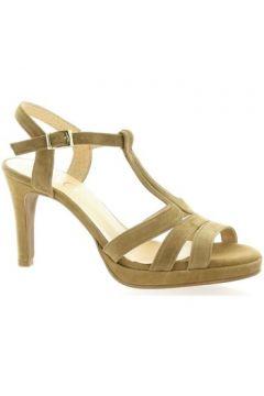 Sandales Brenda Zaro Nu pieds cuir velours(127910155)