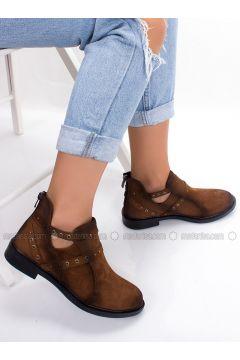 Tan - Boot - Boots - MODA AYAKKABI(110315398)