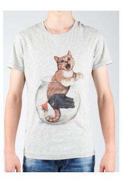 T-shirt Wrangler Light Grey Mel W7940IS03(127984953)