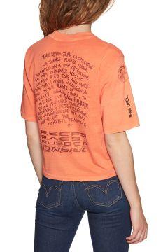 T-Shirt à Manche Courte Femme O\'Neill Lw Re-issue - Mandarine(117375082)