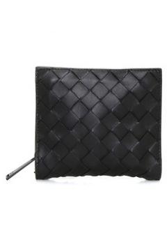 Bottega Veneta Erkek Siyah Örgü Doku Detaylı Bel Çantası EU(115894078)